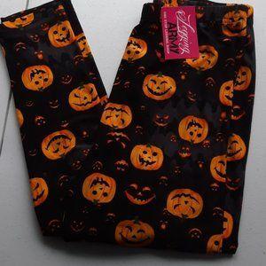 Pumpkin Leggings One Size